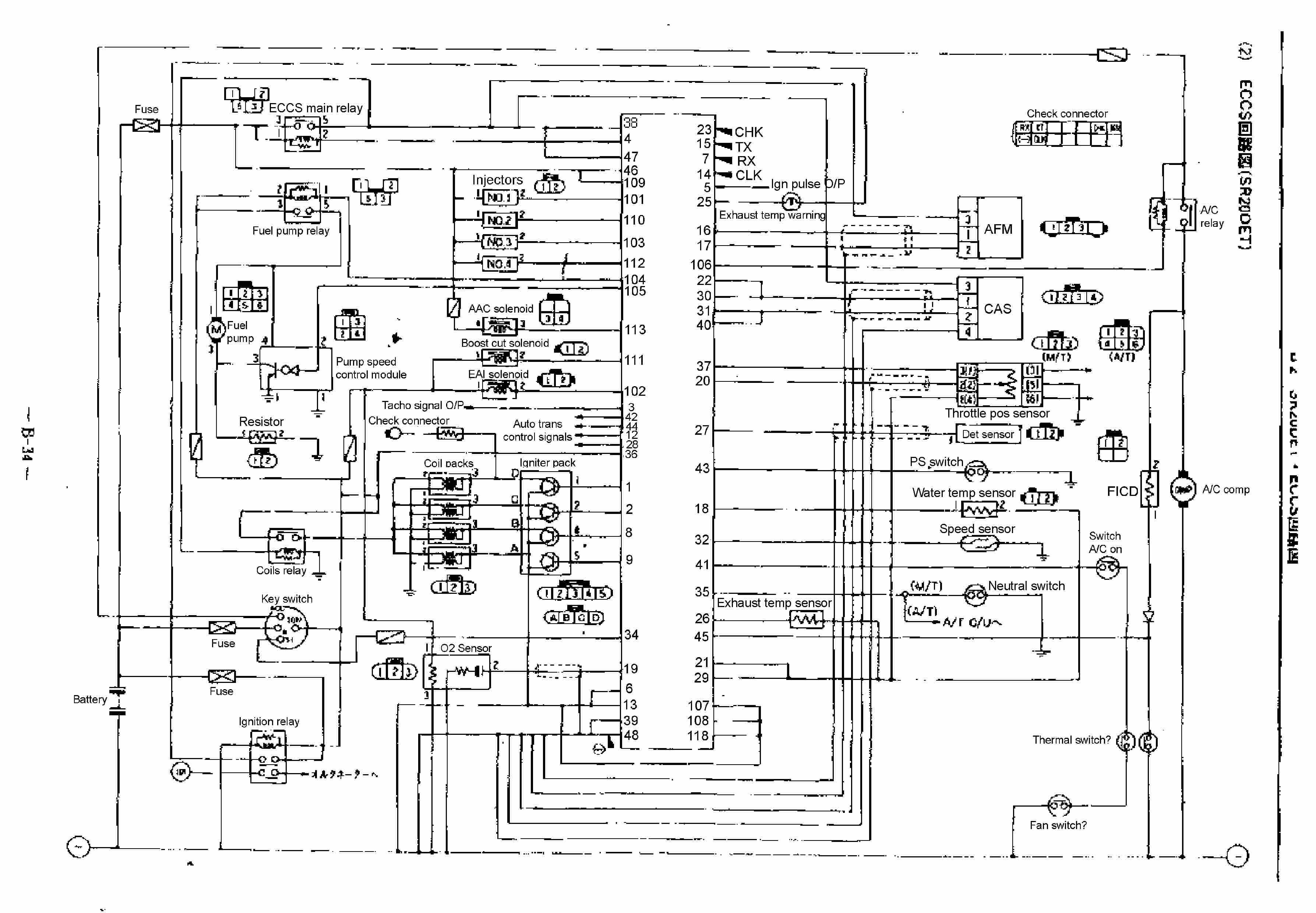 1991 dodge van ignition ledningsdiagram