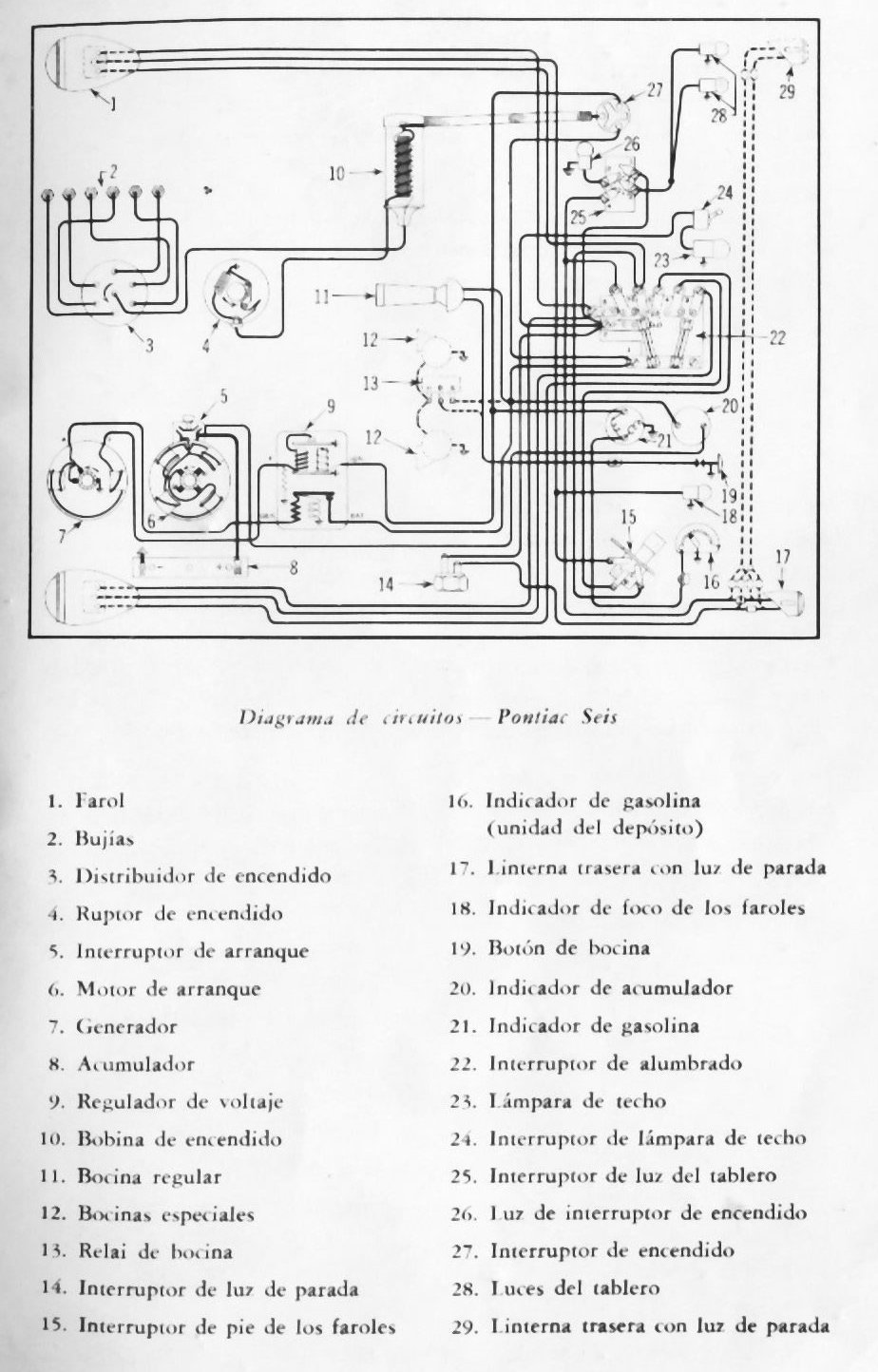 complete wiring diagram of 1960 pontiac