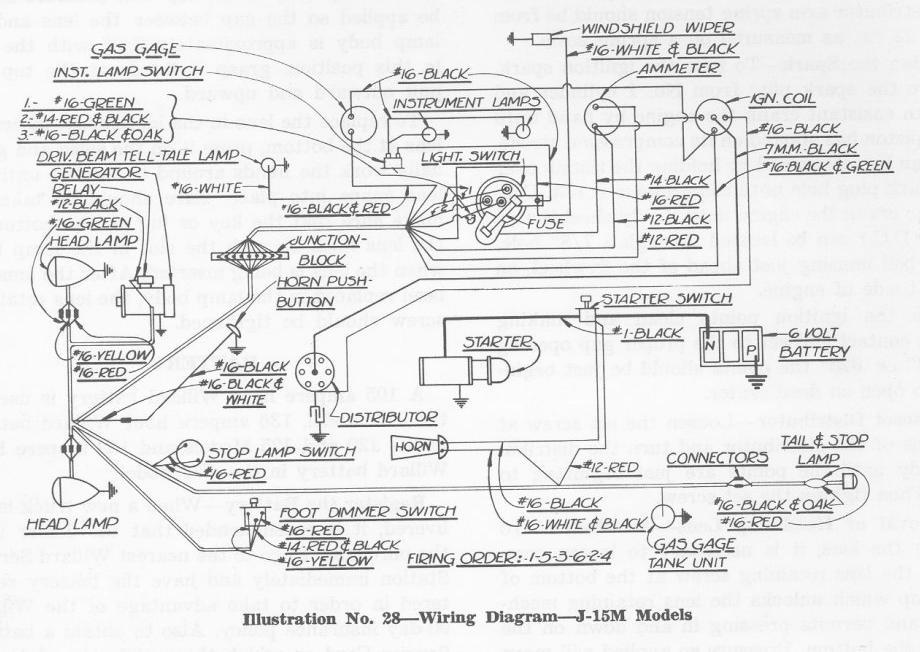 studebaker hawk wiring diagram
