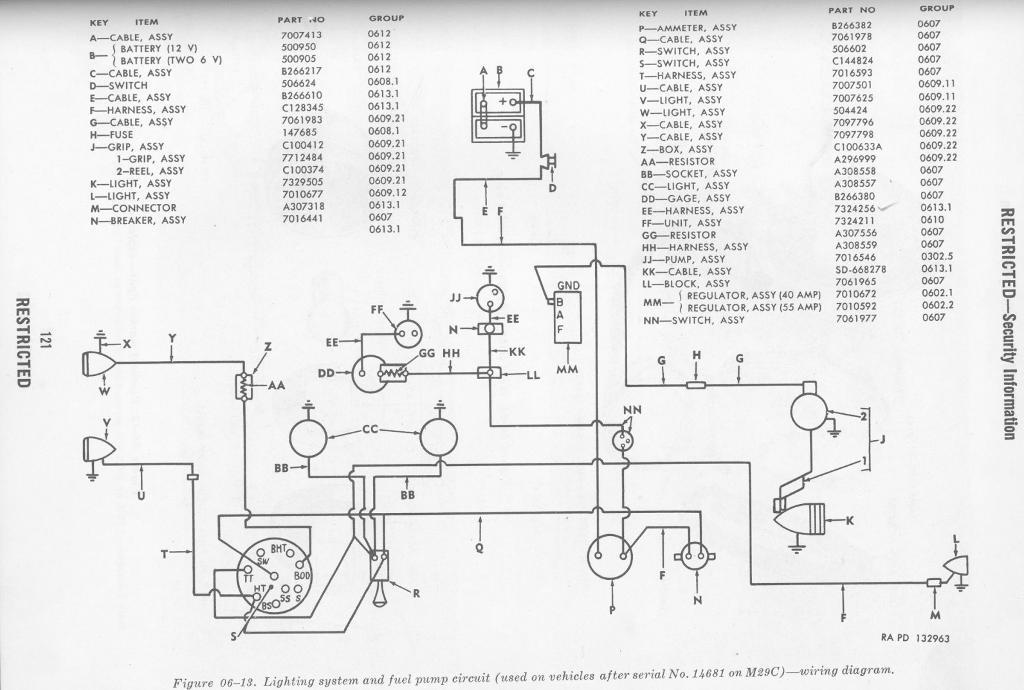 wiring diagram for 1965 studebaker 6 and v8