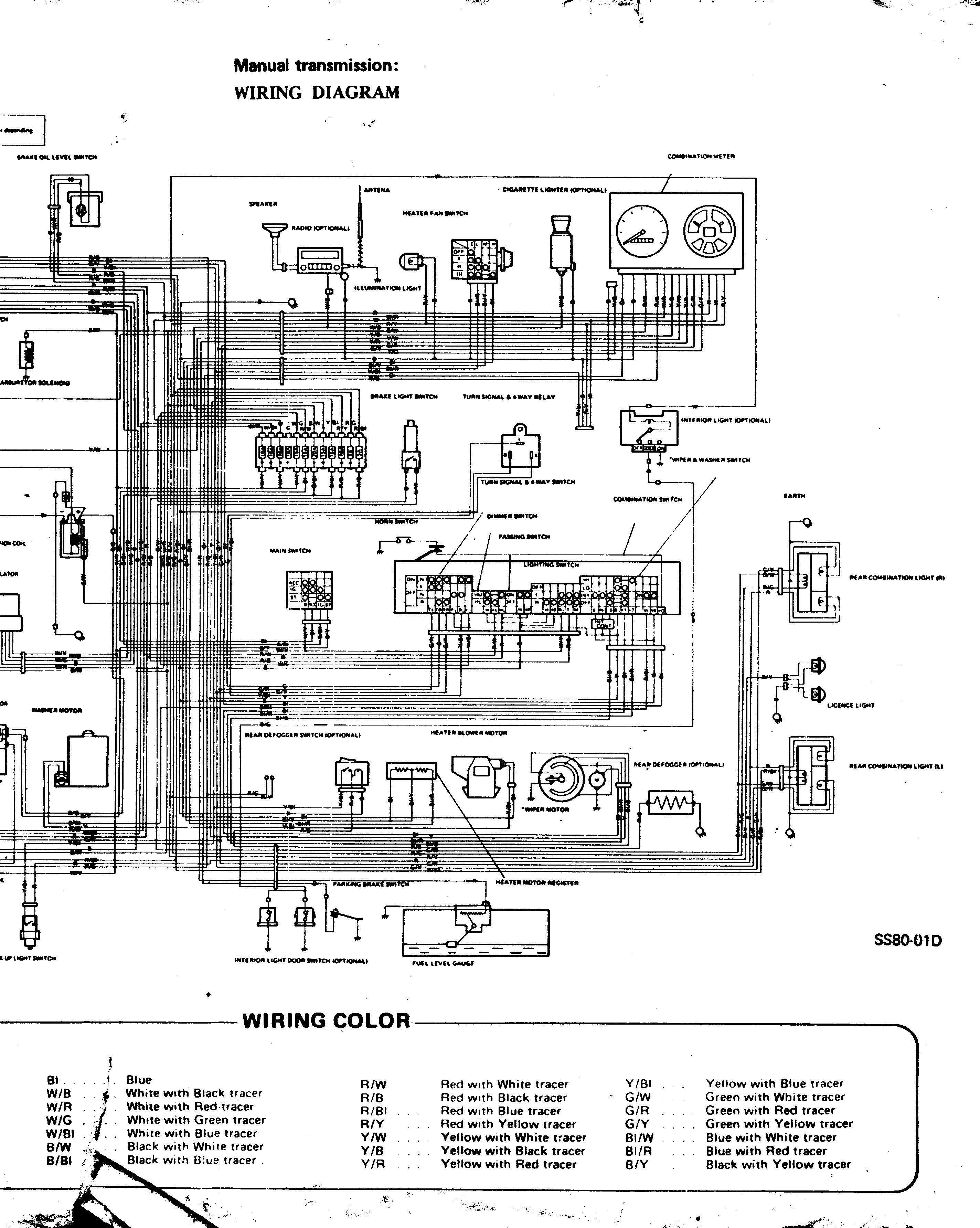 805 suzuki motorcycle wiring diagrams