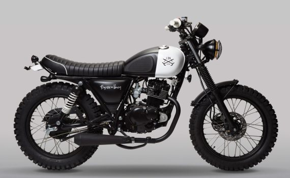 LDN Born Mutt by Massimo Minale and Mutt Motorcycle