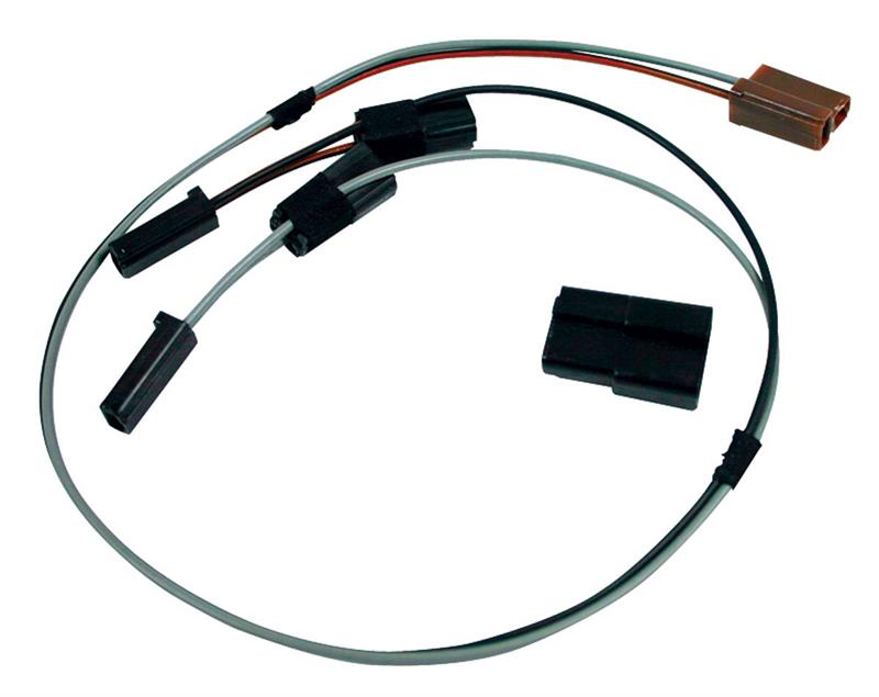 Clock Wiring Harness w/ Top Dash Mounted Clock, 1964-65 Chevrolet