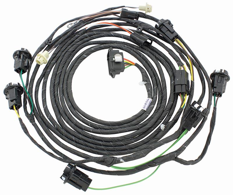 Rear Lamp Wiring Harness, 1969 Pontiac GTO