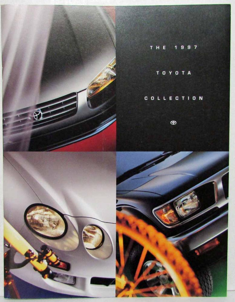 1997 Toyota Camry Brochure Better Wiring Diagram Online