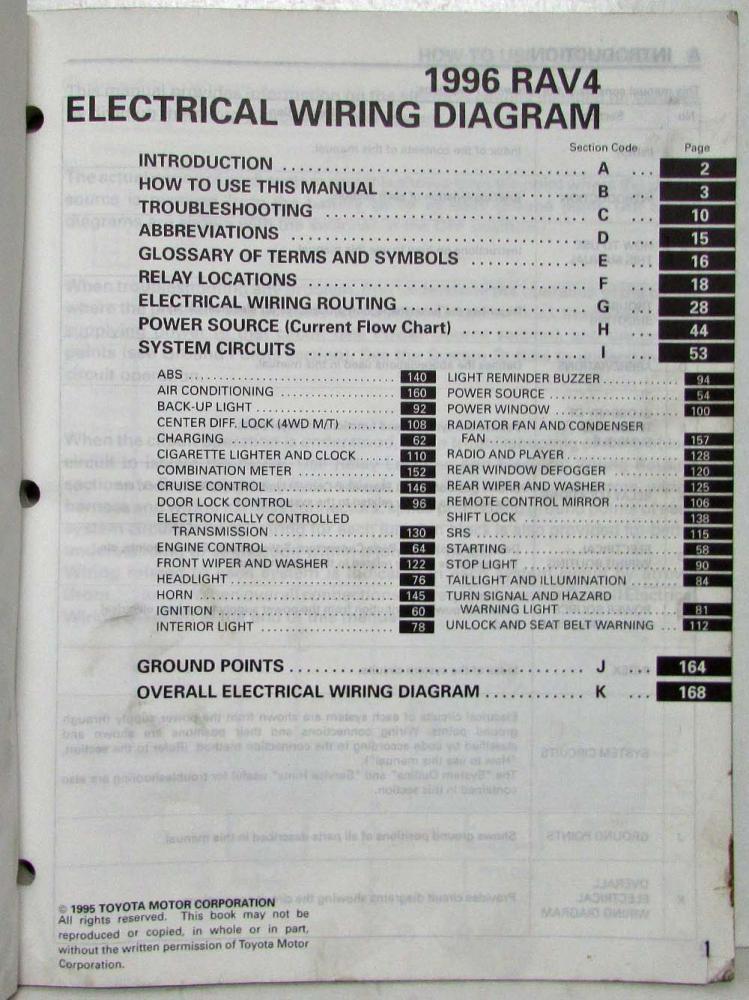 Rav4 Wiring Diagram Download Wiring Diagram