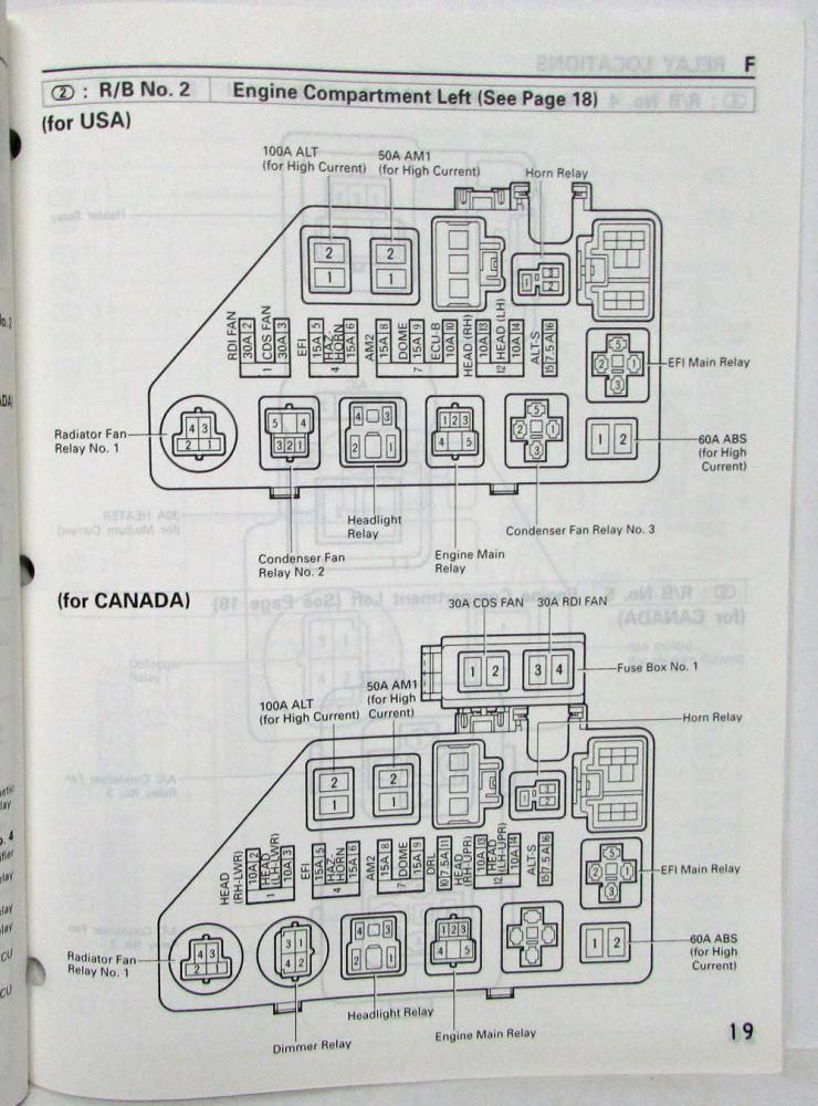 Toyota Paseo Electrical Wiring Diagram El44 Series Toyota Motor