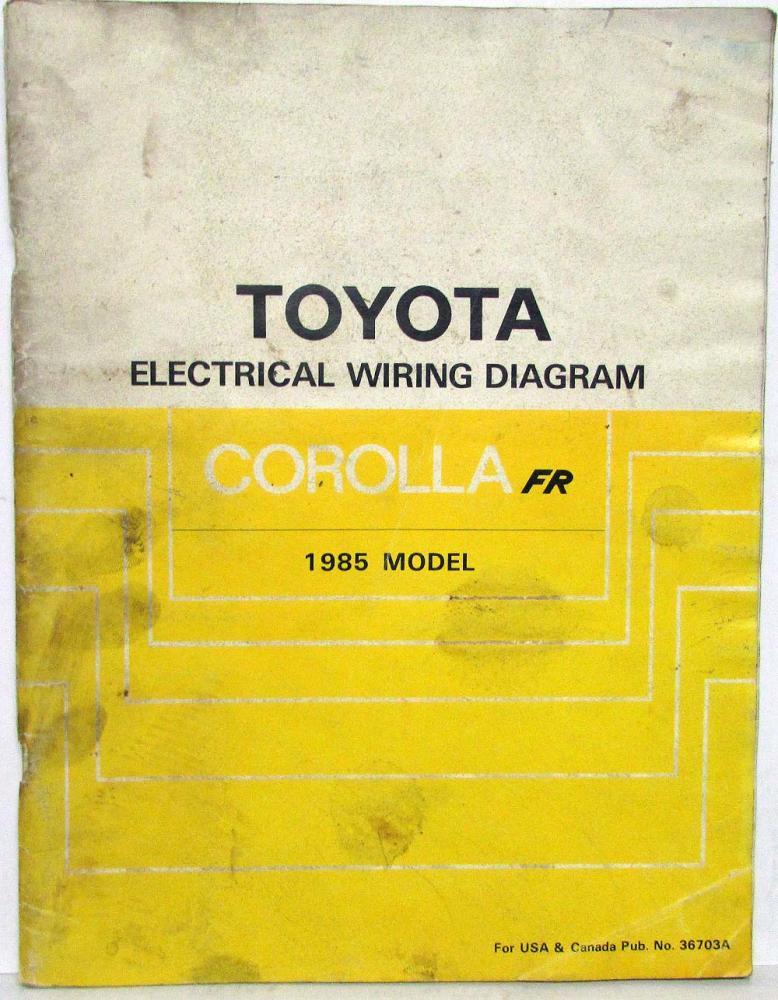 1985 Toyota Corolla Wiring Diagram - 5aaxoowklsmestajtarainfo \u2022