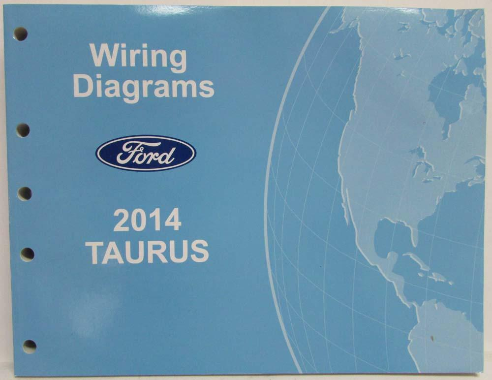 2014 Ford Taurus  Police Interceptor Electrical Wiring Diagrams Manual