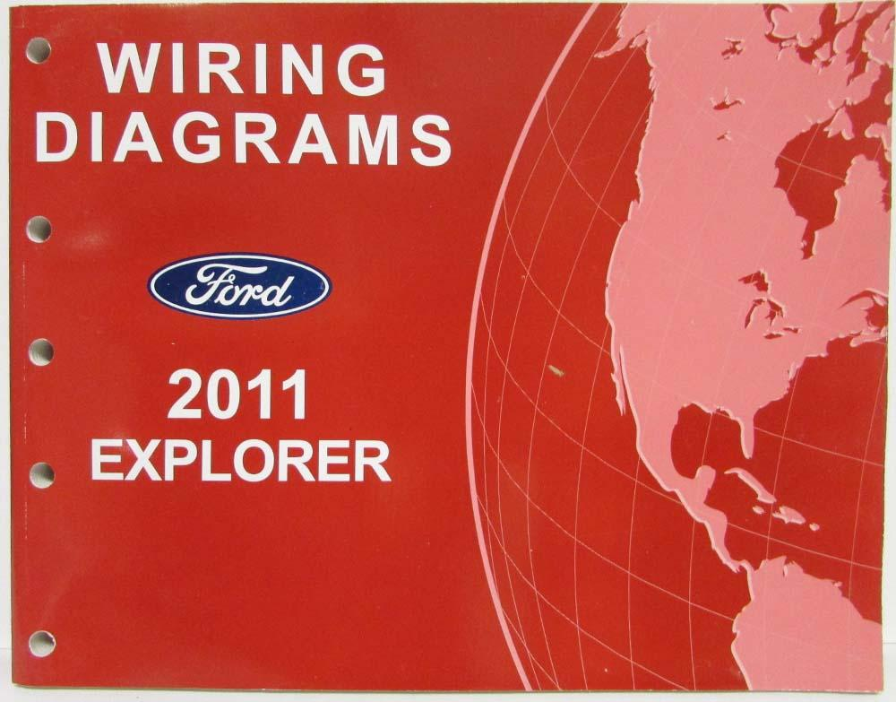 2011 Ford Explorer Electrical Wiring Diagrams Manual