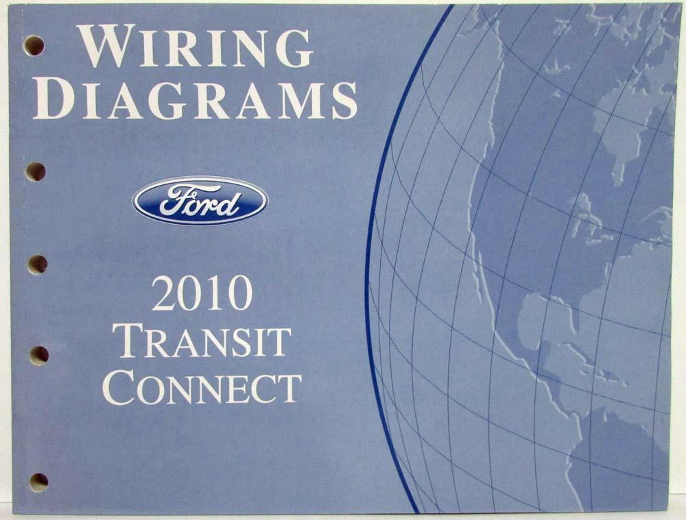 2010 Ford Transit Connect Electrical Wiring Diagrams Manual