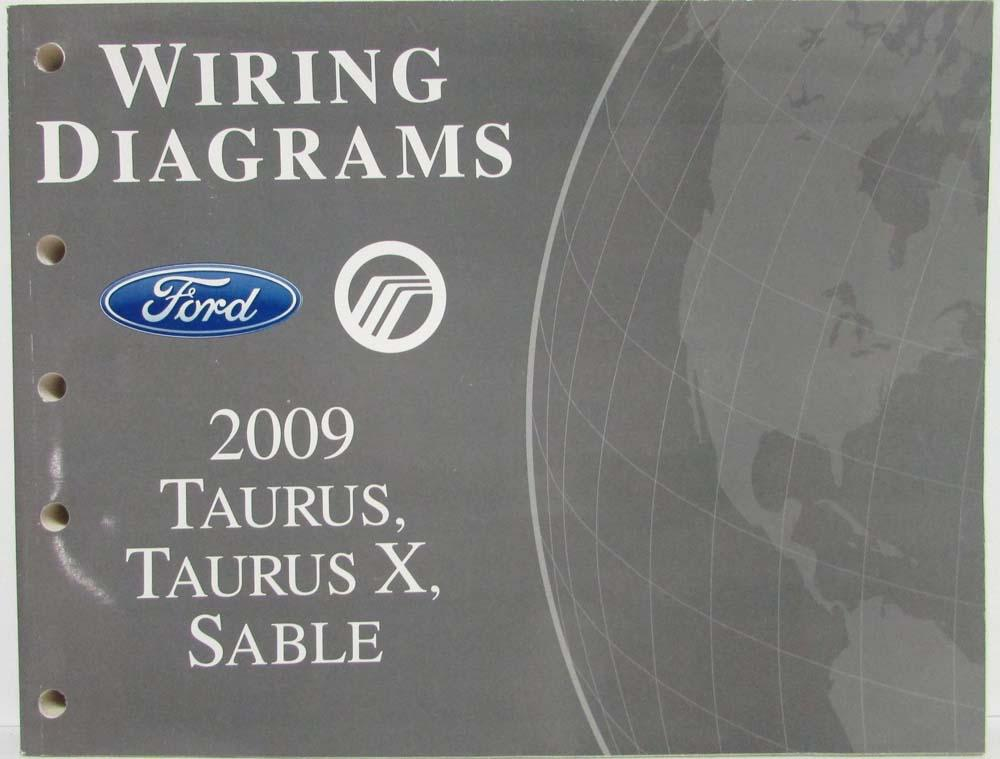 2009 Ford Taurus and X  Mercury Sable Electrical Wiring Diagrams Manual