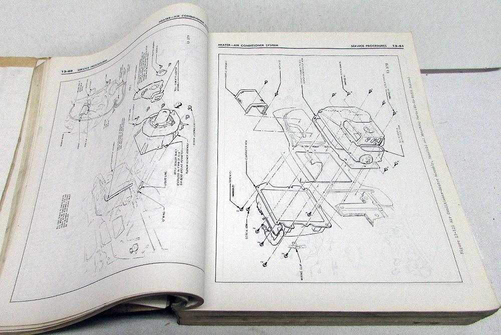 Original 1968 Buick Chassis Service Manual GS Skylark Riviera