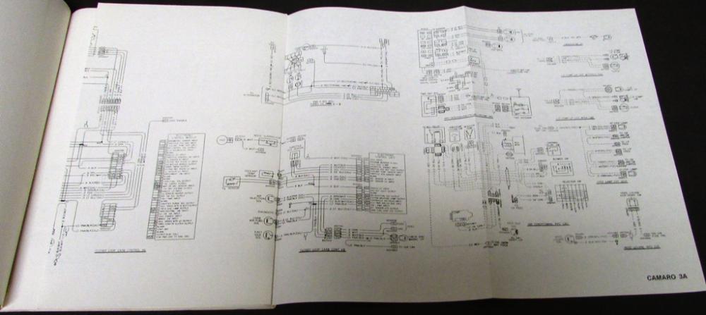 1980 Chevrolet Wiring Diagrams Service Manual Camaro Monte Carlo