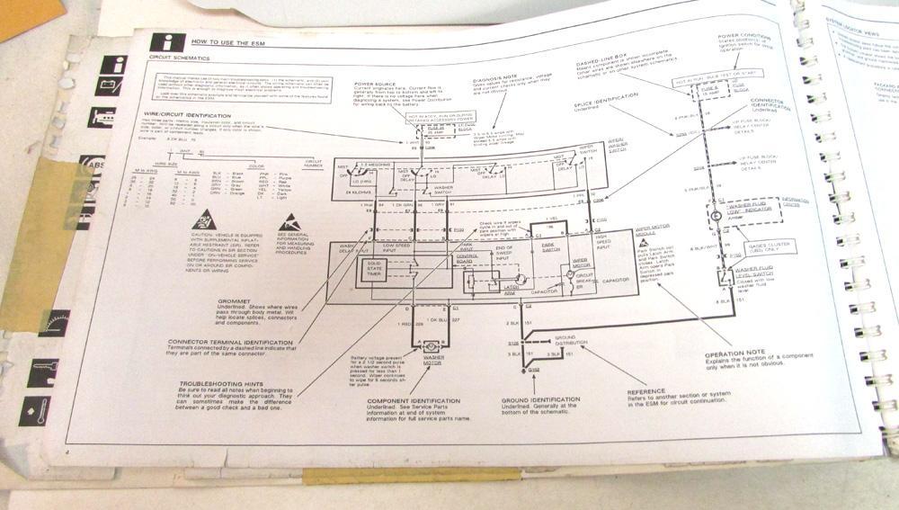 Wiring Diagram 1991 Buick Park Avenue - Wiring Diagrams Schema