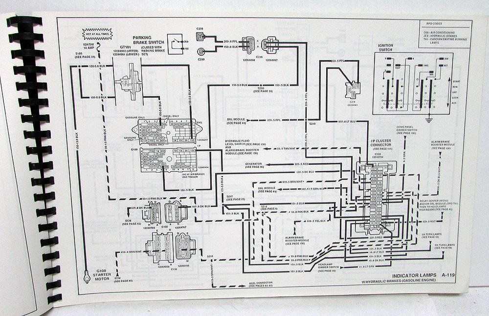 1991 Gmc Wiring Diagram - Wiring Data Diagram