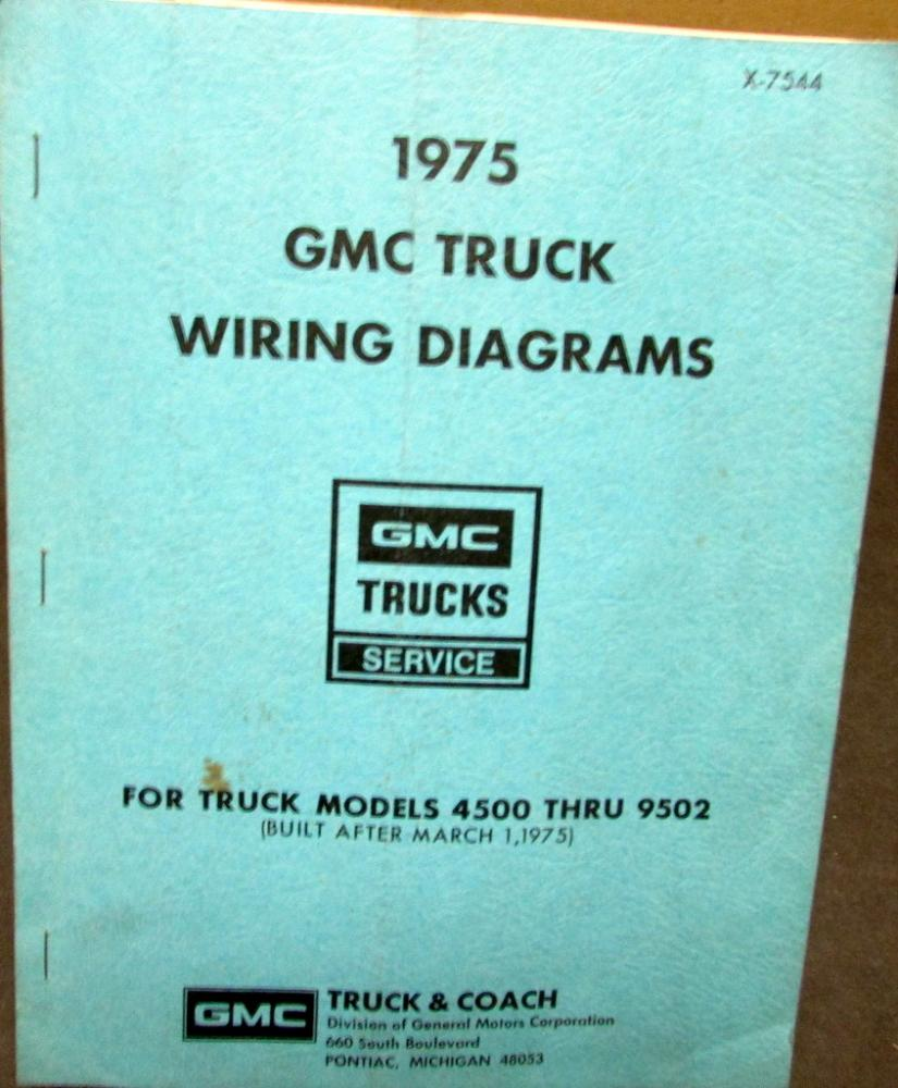 1979 gmc 4500 electrical wiring diagram