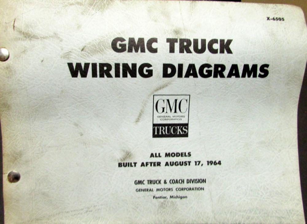1965 gmc pickup wiring diagram