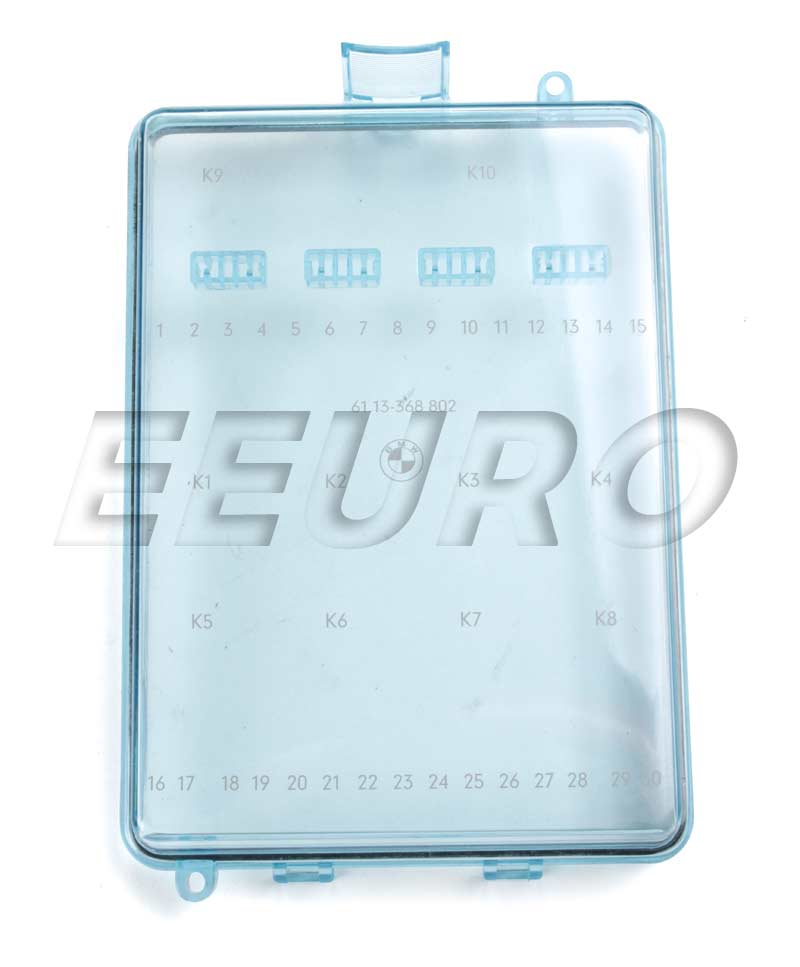 BMW Fusebox Cover 61131368802 eEuroparts®
