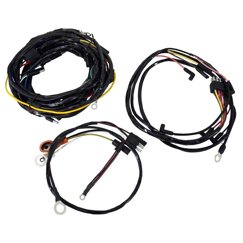 1965 mustang alternator wiring colors