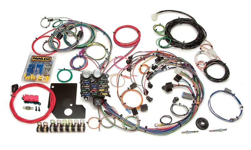 66 Chevy Wire Harness Wiring Diagram