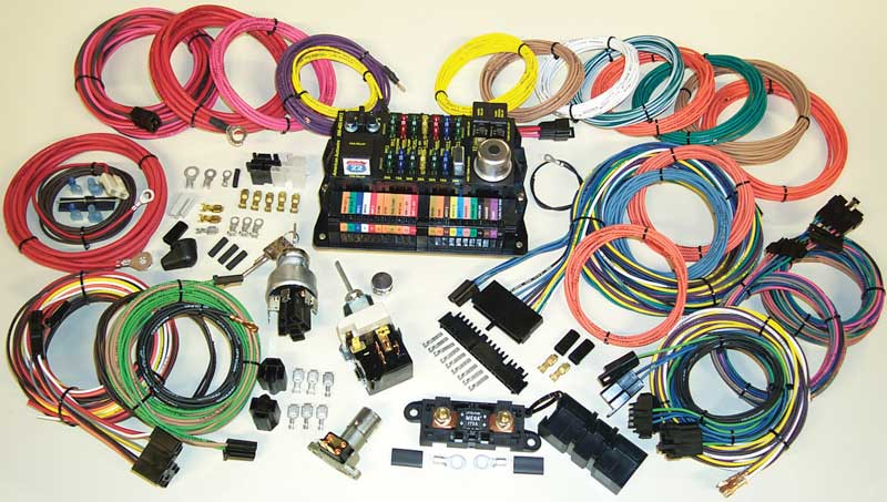 1930-2002 All Makes All Models Parts 500695 22 Circuit - 15 Fuse