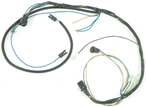 1958 Chevrolet Impala Parts Electrical and Wiring Wiring and
