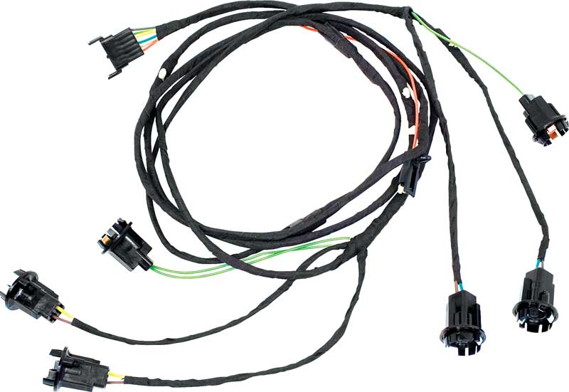 chevrolet wiring harness connectors