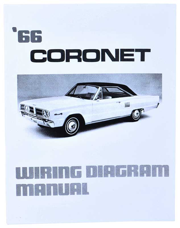 Dodge Coronet Parts Literature, Multimedia Literature Wiring