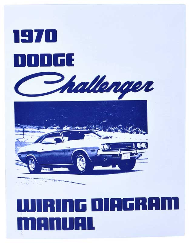 1970 Dodge Challenger Wiring Diagram Manual