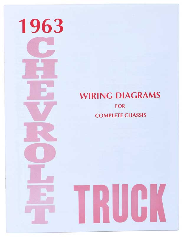 1963 Chevrolet Truck Parts Literature, Multimedia Literature