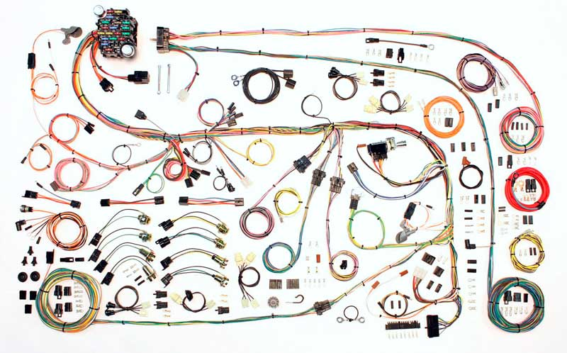 1970 Plymouth Duster Parts MA85629 1967-75 Mopar A-Body - Classic  Update Complete Wiring Harness Classic Industries