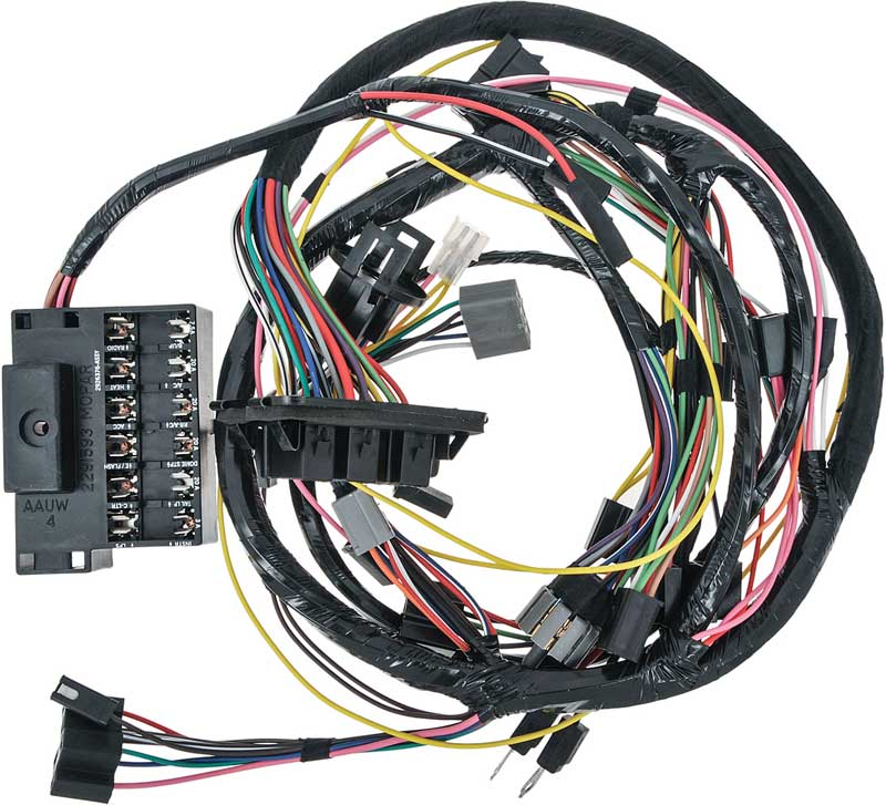 Wiring Harness For 1969 Wiring Diagram