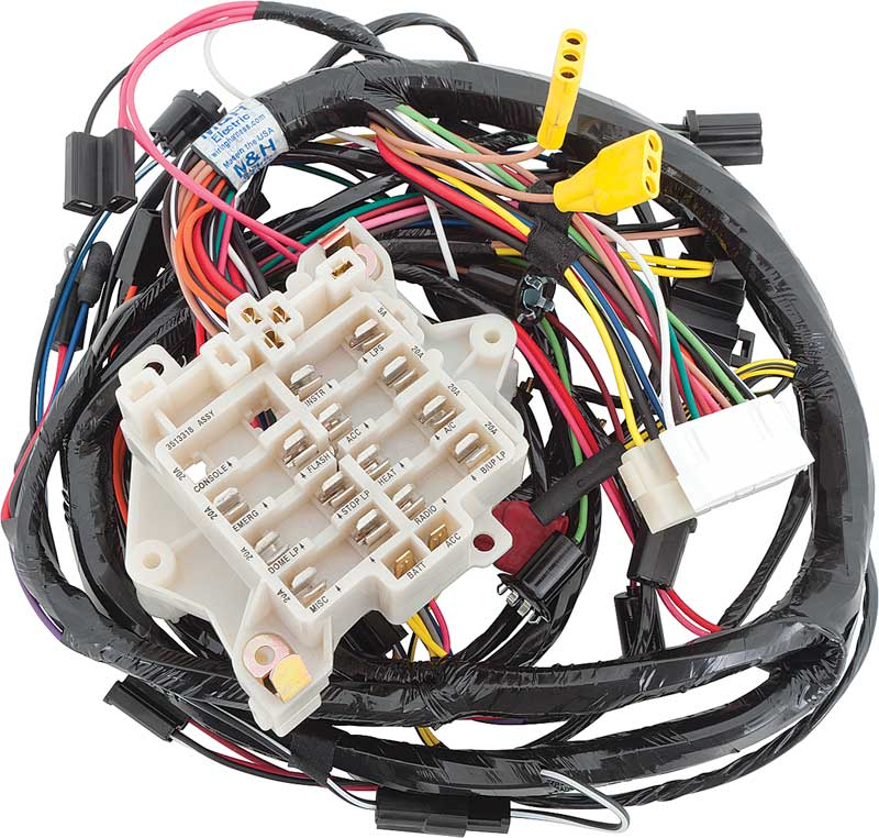 Plymouth Barracuda Parts Electrical and Wiring Wiring and
