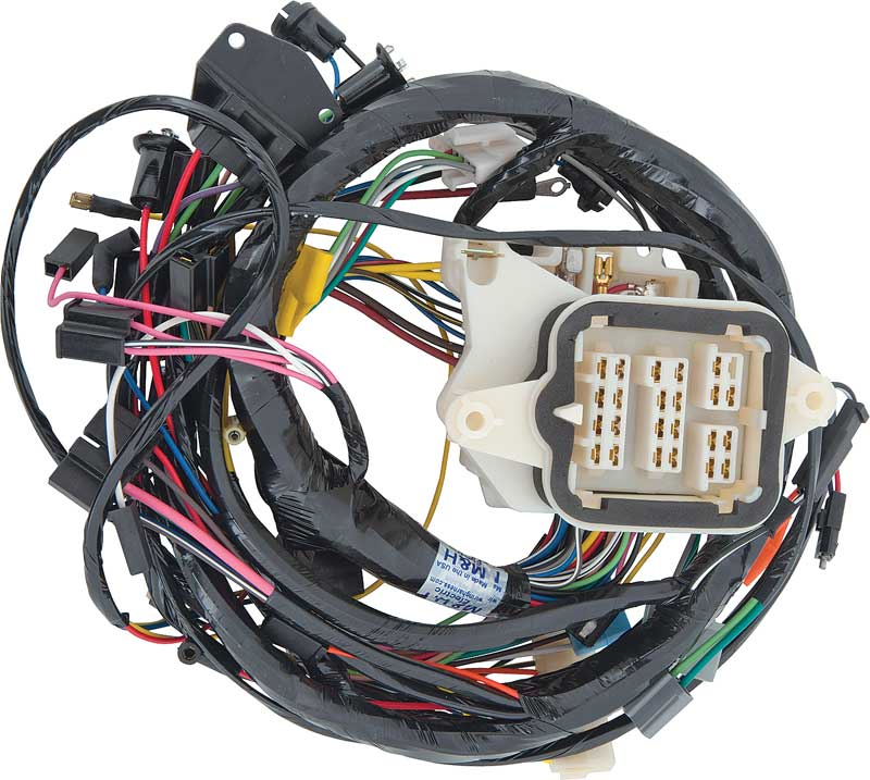 1970 cuda dash wiring harness