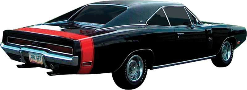 Dodge Charger Parts Emblems and Decals Stencils and Stripes