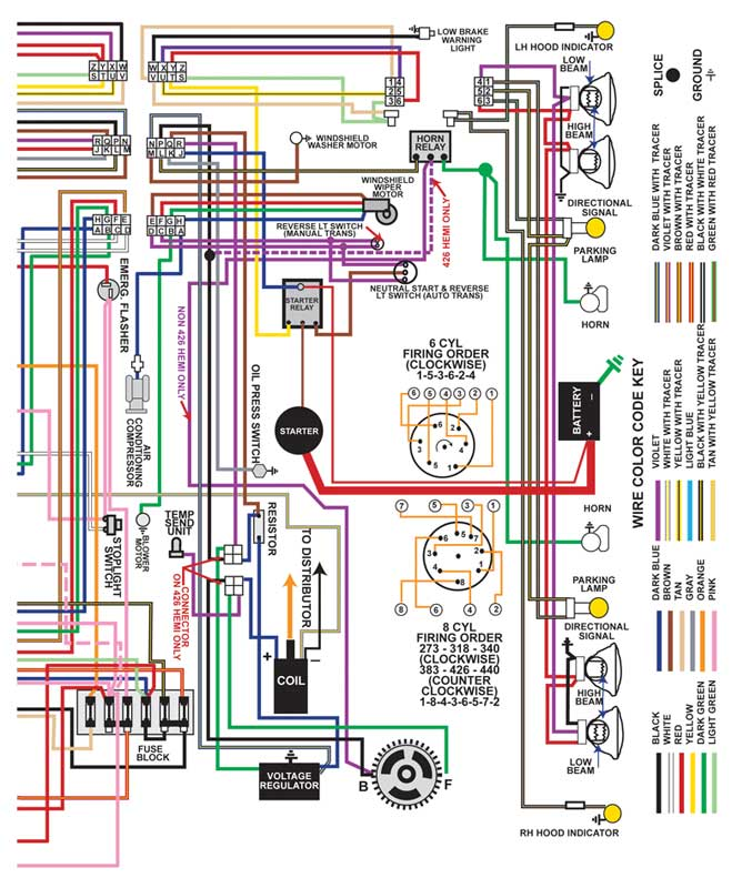 Color Wiring Diagrams Diagram Wiring Diagram Schematic