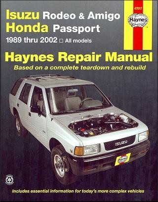 Factory Isuzu Repair Manuals