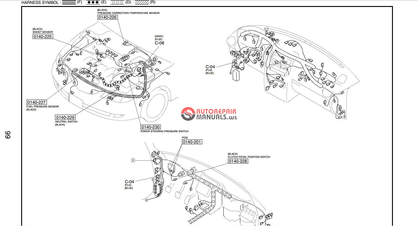 wiring diagram for transmission 2007 mazda 6