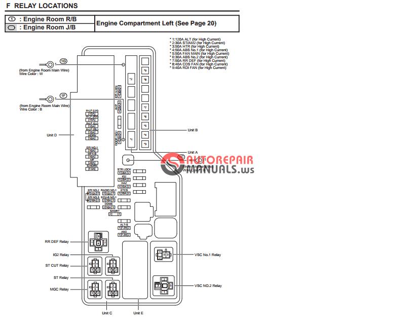toyota wiring diagram repair