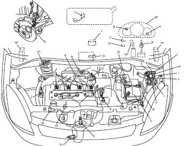suzuki diagram engine k6a