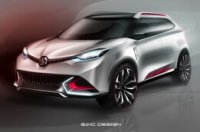 MG CS concept from front