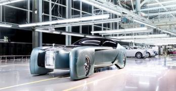The Rolls-Royce VISION NEXT 100 is seriously weird looking