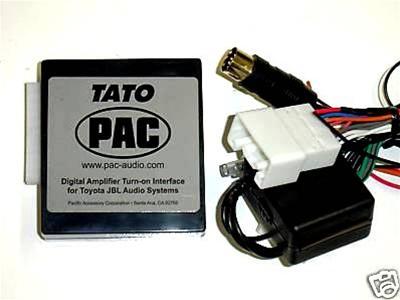 PAC TATO Toyota JBL/Synthesis Radio Harness, Car Stereo Kits, Audio