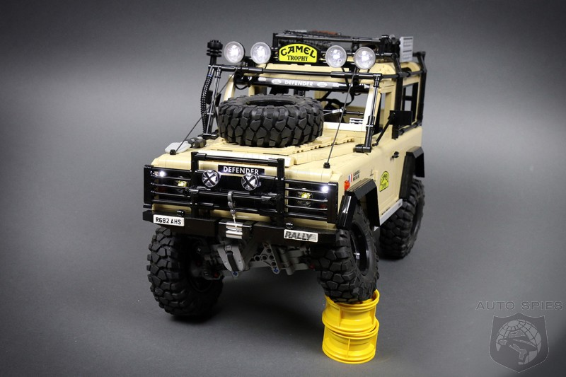 The Details Makes This The Ultimate Land Rover Defender Lego Technic