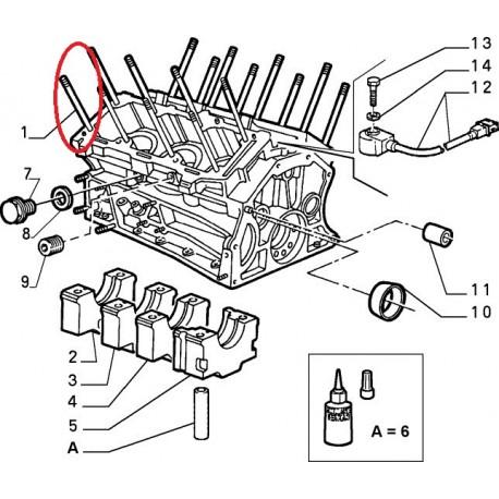 Engine basement - Alfa Romeo 164 / Spider (3,0 12V)