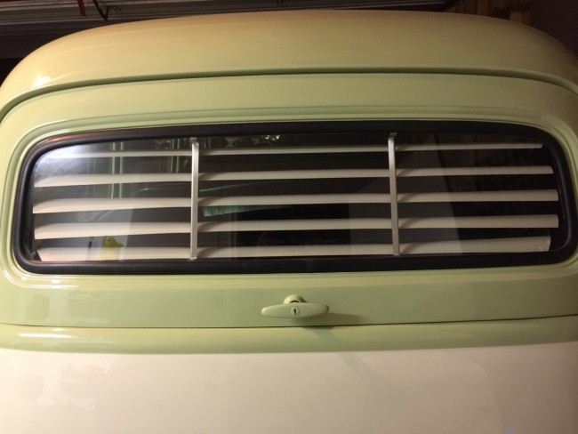 1954 chevy rear window for blinds