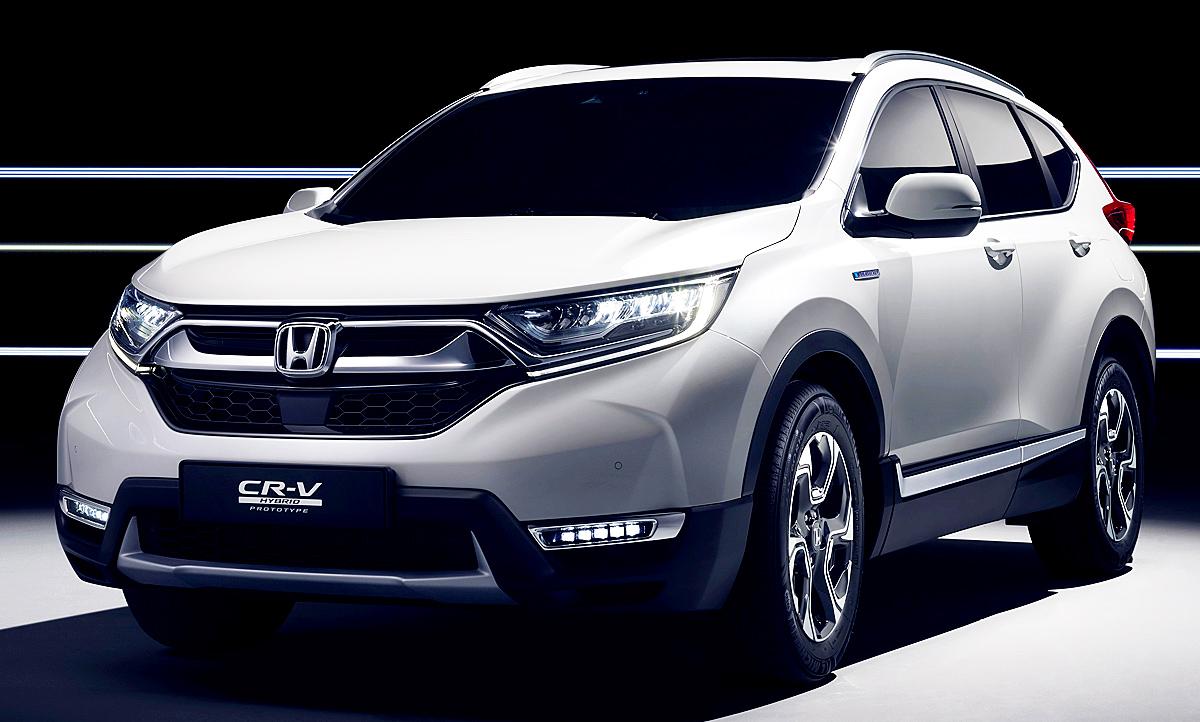 Wallpaper Import Cars Honda Cr V 2018 Erste Fotos