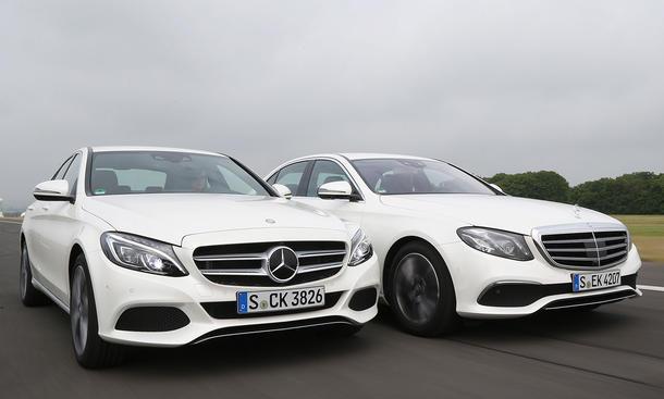 Fast And The Furious 6 Cars Wallpaper Mercedes C 300 E 200 Test Autozeitung De