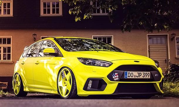Golf Gti Hd Wallpaper Ford Focus Rs Hildegard Von Jp Performance Autozeitung De